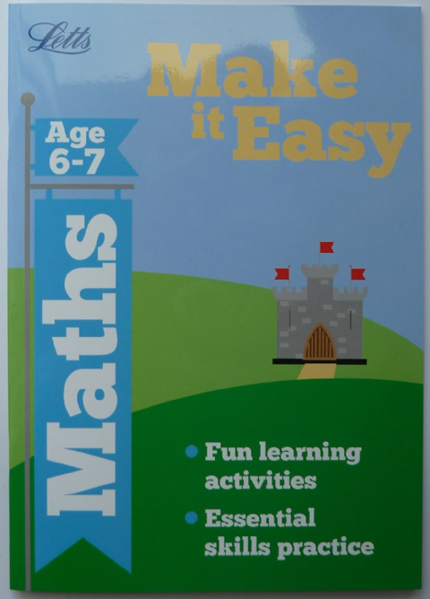 Letts  Maths Ages 6 - 7
